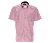 Kurzarm Hemd Modern FIT rot