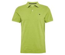 Poloshirt 'nos basic polo' grün