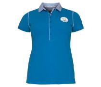 Polo Team Poloshirt blau