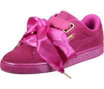 Sneaker 'Suede Heart Satin' pink