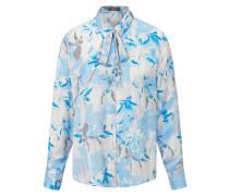 Bluse rauchblau / hellblau / grau / weiß