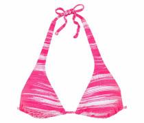 Triangel-Top 'Physical' pink / weiß