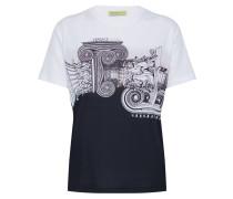 T-Shirt 'tdm613' schwarz / weiß