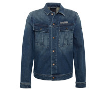 Jacke 'military Denim Skd' blue denim
