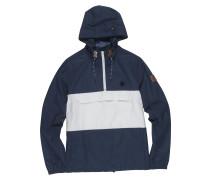 'Covert' Jacke dunkelblau / weiß
