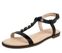 Sandalen 'Bay blossom' schwarz