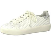 Sneaker mischfarben / silber / offwhite