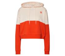 Sweatshirt orange / rosa