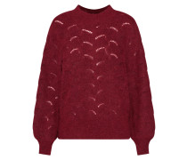 Pullover 'iva' weinrot