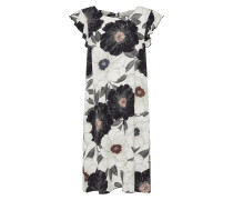 Kleid schwarz / naturweiß