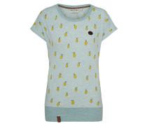 Shirt hellblau / gelb