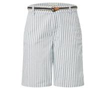 Shorts weiß / taubenblau