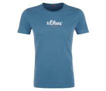 T-Shirt 'authentic' himmelblau