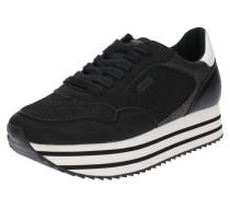 Plateau-Sneaker 'ocean' schwarz