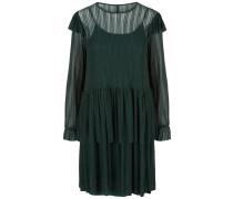 Minikleid dunkelgrau / dunkelgrün