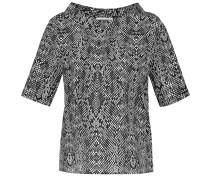 Bluse schwarz / weiß