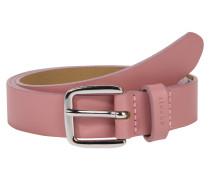 Ledergürtel 'Slim basic' rosa