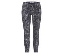 Jeans 'lonia' dunkelgrau / schwarz
