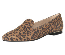 Slipper Fashion-Slipper braun / schwarz