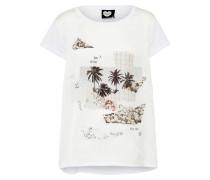 T-Shirt 'Bay' weiß