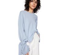 Pullover 'Valerie' blau / hellblau