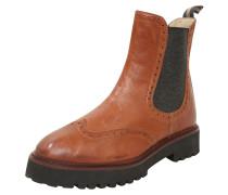 Chelsea-Boot schoko / cognac / bronze