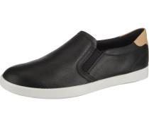 Sneaker cappuccino / schwarz