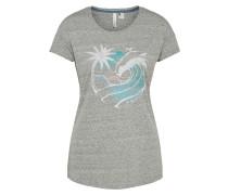 Shirt 'waves' hellgrau