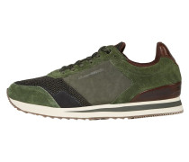 Sneaker braun / dunkelgrau / khaki