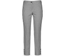 Hose mit Vichy Karo schwarz / weiß
