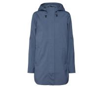 Regenmantel taubenblau