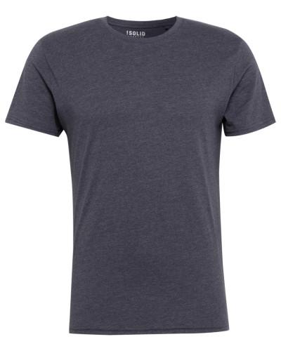 T-Shirt 'Rock Melange' navy