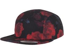 Cap 'Roses Jockey' rot / schwarz