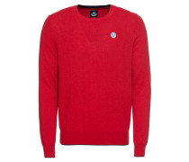 Pullover 'round Neck W/contrast 12 GG'