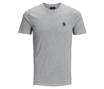 T-Shirt Weihnachts grau