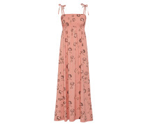 Kleid 'Juliana 2' dunkelgrau / rosa