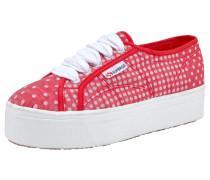 Sneaker 'Cotmultistr' rot / weiß