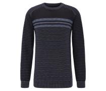 Pullover taubenblau / schwarz