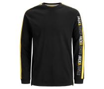 Shirt gelb / schwarz / weiß