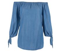 Bluse im Denim-Look blue denim