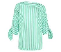 Bluse 'Hanni' grün / weiß