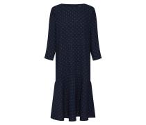 Kleid 'Winala' blau / dunkelblau / weiß