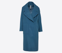 Mantel 'cluny' blau / grau