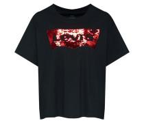 Shirt rot / schwarz
