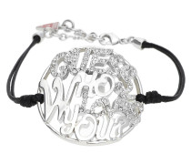 Armband Silber/Schwarz Ubb12201