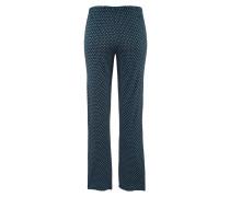 Pyjama nachtblau / hellgrau