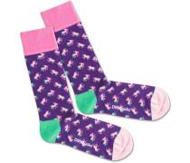 Socken 'Unique Purple'