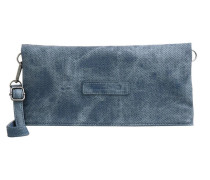 Clutch blue denim