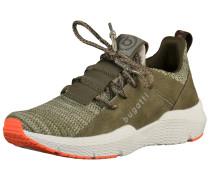 Sneaker khaki / dunkelgrün