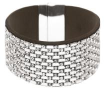 Armband 'Tya' schwarz / silber